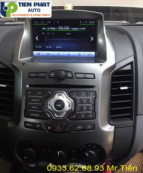 dvd chay android  cho Ford Ranger 2014 tai quan 11