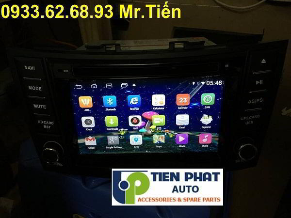 DVD Chạy Android Cho Suzuki Swift 2015-2016 Tại Huyện Bình Chánh