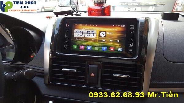 DVD Winca S160 Chạy Android Cho Toyota Vios 2015-2016 Tại Huyện Củ Chi