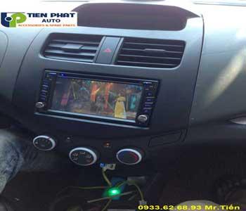 Chuyên: Màn Hình DVD Cho Chevrolet Spack 2017 Tại Quận Gò Vấp