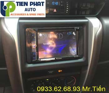 Chuyên: Màn Hình DVD Cho Toyota Fortuner 2017 Tại Huyện Bình Chánh