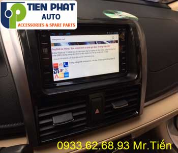 Chuyên: Màn Hình DVD Cho Toyota Vios 2016 Tại Quận Thủ Đức