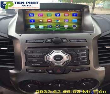 Chuyên: Màn Hình DVD Winca S160 Cho Ford Ranger 2016 Tại Quận 1