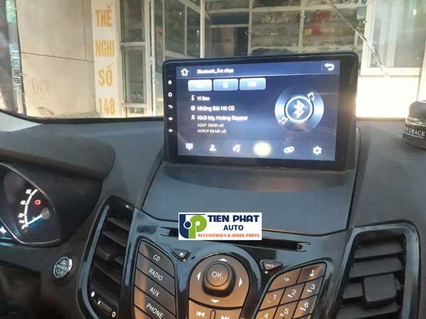 DVD Android 10 Inch Ram 2G Cắm Sim Cho Ford Fiesta 2012-2018