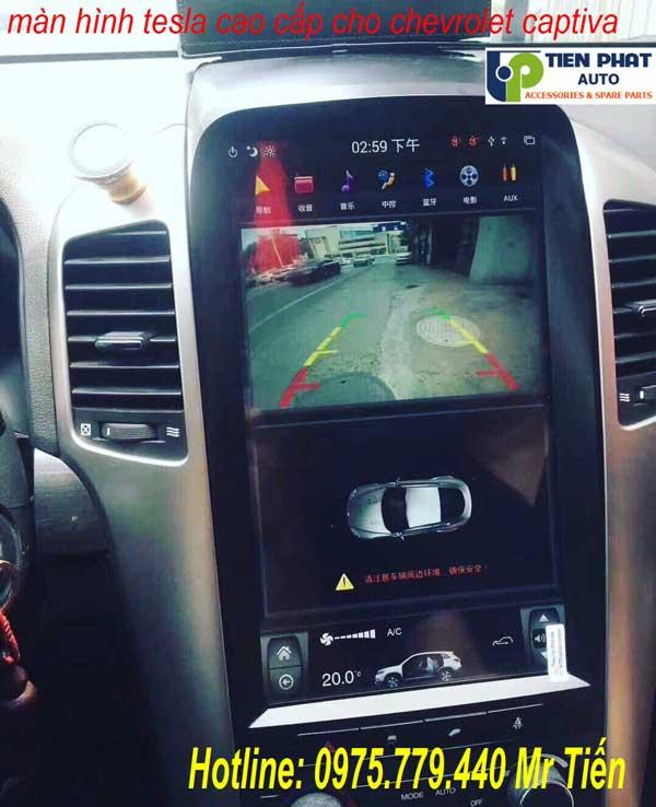DVD Tesla Cho Chevrolet Captiva 2007-2017 Giá Ưu Đãi Tại Tp.HCM