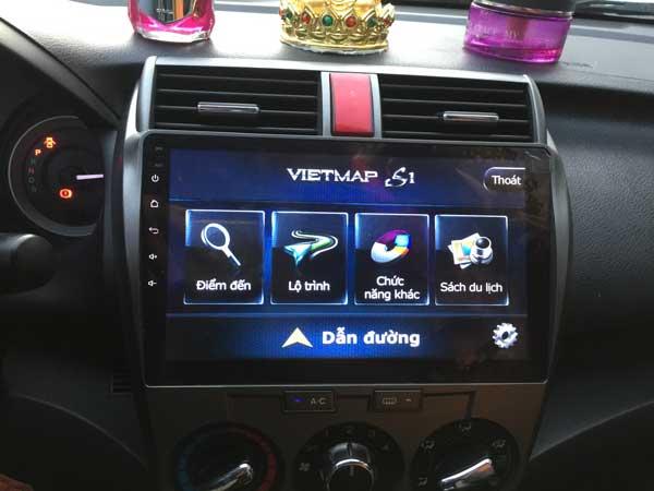 Lắp Màn Hình DVD Android 10,2 inch  Cho Honda City 2013