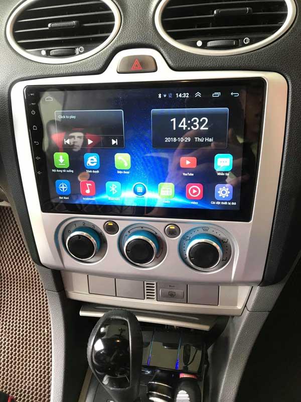 Màn Hình DVD Android Cắm Sim 4G LTE Cho Forcus 2008-2012