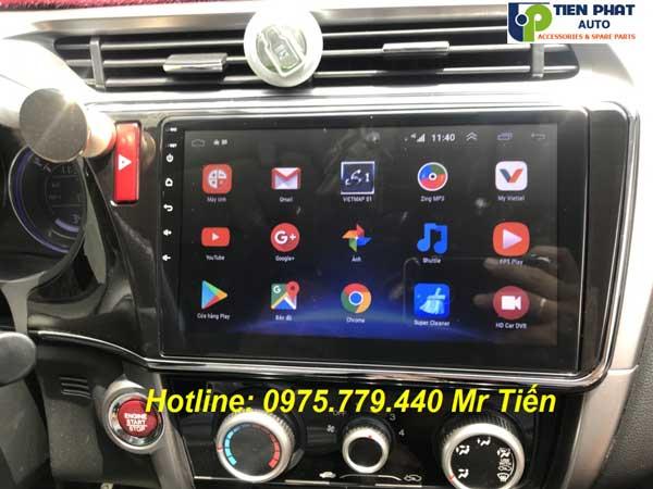 Màn Hình DVD Android 10.2 Inch Cắm Sim 4G Cho Honda City 2014-2018 Giá Ưu Đãi
