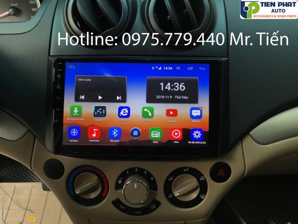 Màn hình DVD Android 4G cho Chevrolet Aveo