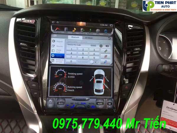 Màn Hình DVD Tesla Cho Mitsubishi Pajero Sport 2017-2019