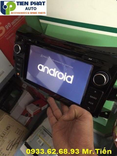 Màn Hình DVD Winca S160 Chạy Android Cho Nissan Navara 2015-2016