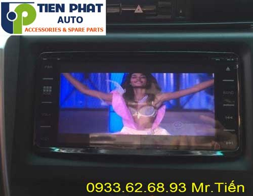 dvd chay android  cho Toyota Fortuner 2017 tai Quan 6