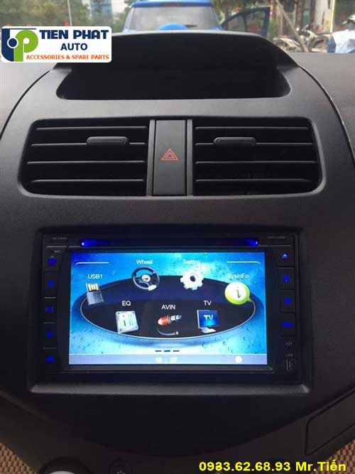 dvd chay android  cho Chevrolet Spack 2014 tai Quan 7