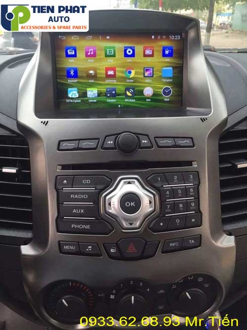 dvd chay android  cho Ford Ranger 2016 tai quan 4