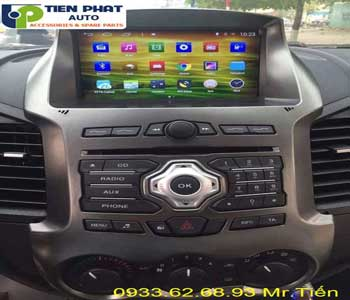 dvd chay android  cho Ford Ranger 2016 tai Tai Huyen Can Gio