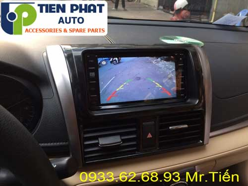 dvd chay android  cho Toyota Vios 2016 tai Huyen Can Gio