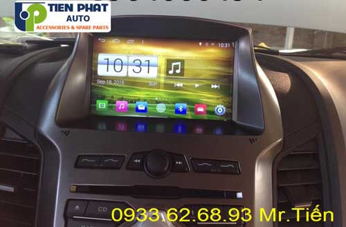 dvd chay android  cho Ford Ranger 2015 tai Huyen Cu Chi