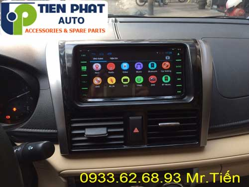 phan phoi dvd chay android cho Toyota Yaris 2014 gia re tai Huyen Can Gio