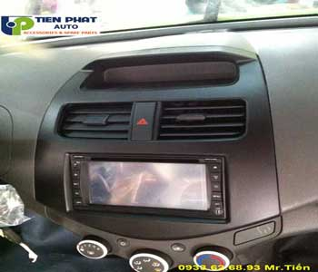 dvd chay android  cho Chevrolet Spack 2017 tai Huyen Nha Be