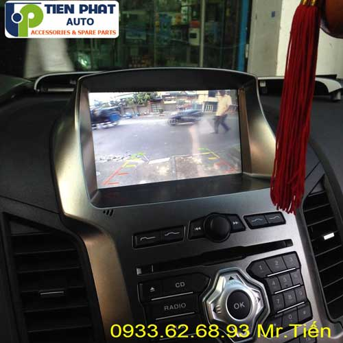 dvd chay android  cho Ford Ranger 2015 tai Huyen Can Gio