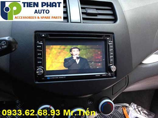 dvd chay android  cho Chevrolet Spack 2015 tai Quan 3