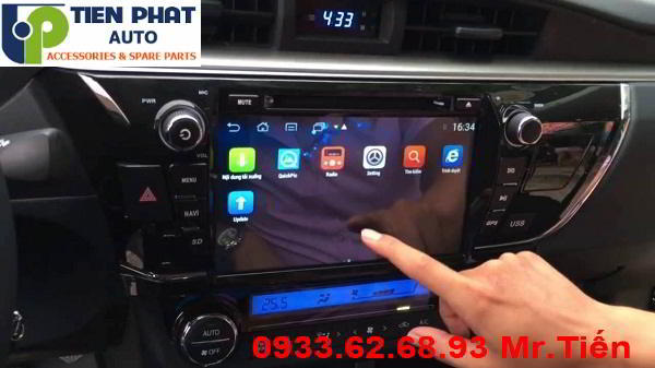 DVD Chạy Android Cho Toyota Altis 2014-2016 Tại Quận 5