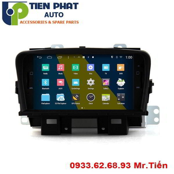 DVD Winca S160 Chạy Android Chevrolet Cruze Tại Quận Tân Bình