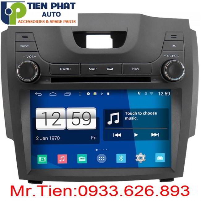 DVD Winca S160 Chạy Android Cororado 2015-2016 Tại Huyện Củ Chi