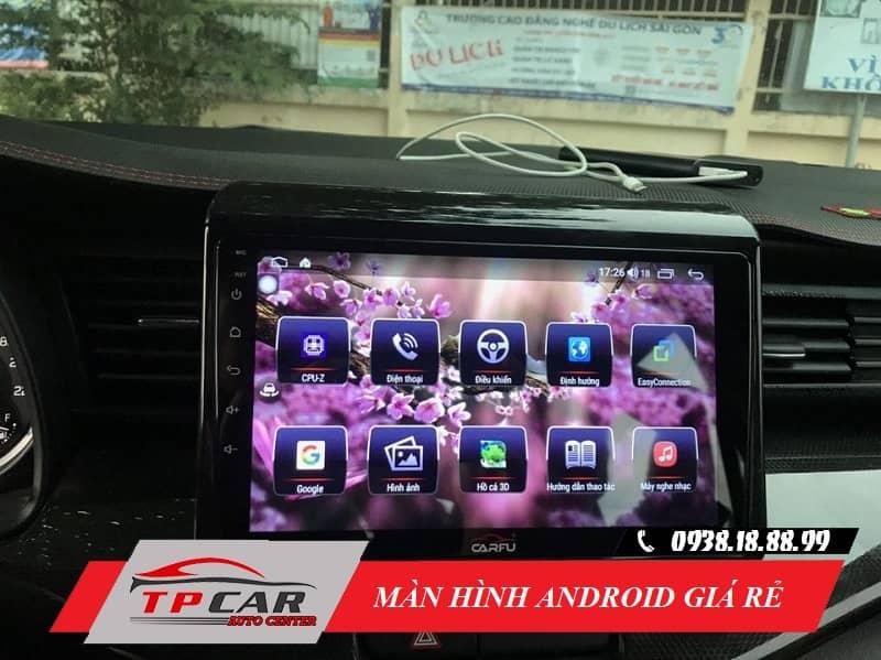 5 mẫu màn hình Android ô tô giá rẻ phù hợp cho xe đời thấp