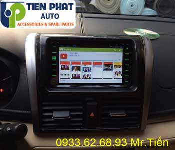 Chuyên: Màn Hình DVD Cho Toyota Vios 2017 Tại Quận Gò Vấp