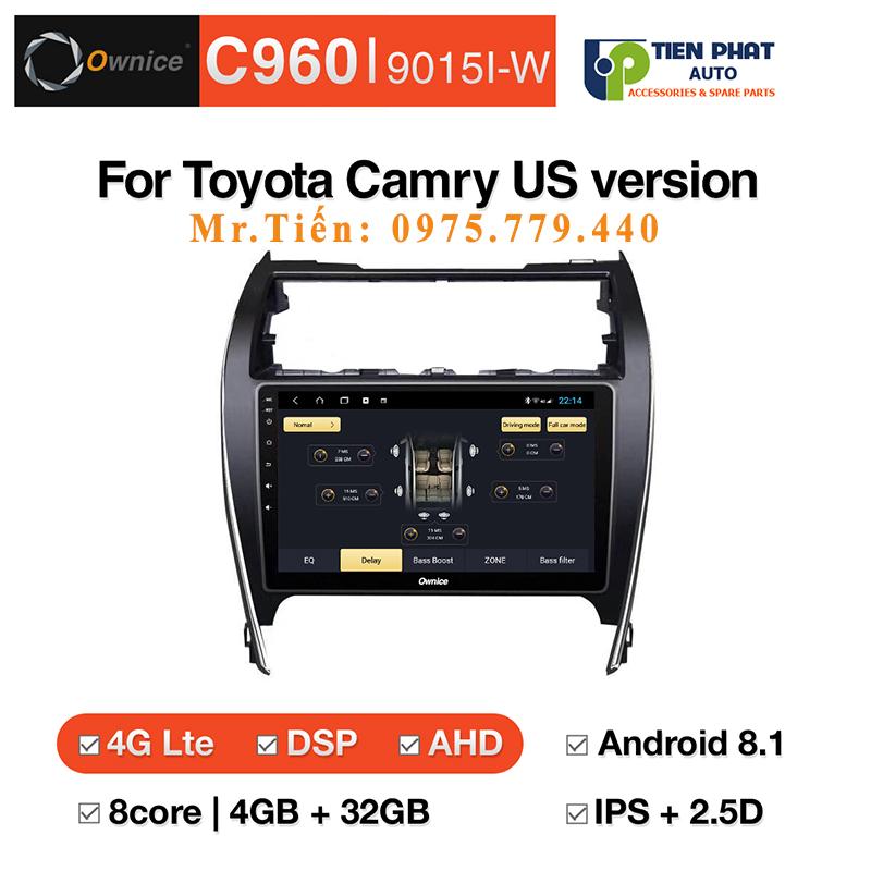 Địa Chỉ Lắp DVD android Ownice C960 Toyota Camry US Giá Tốt