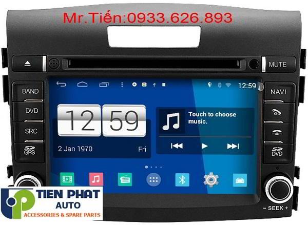 DVD Winca S160 Chạy Android Cho Honda Crv 2015-2016 Tại Huyện Cần Giờ