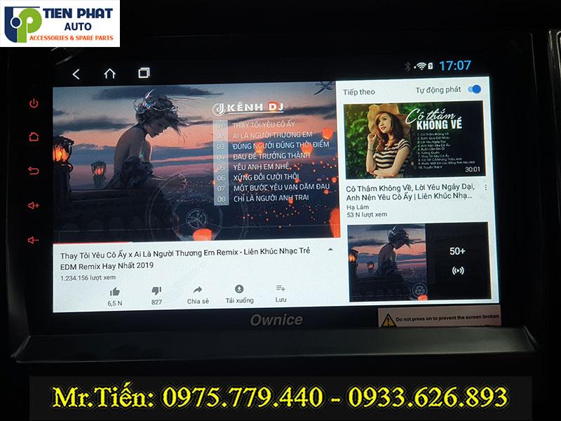 GẮN MÀN HÌNH DVD OWNICE C960 CAO CẤP CHO FORD EVEREST TẠI TP.HCM