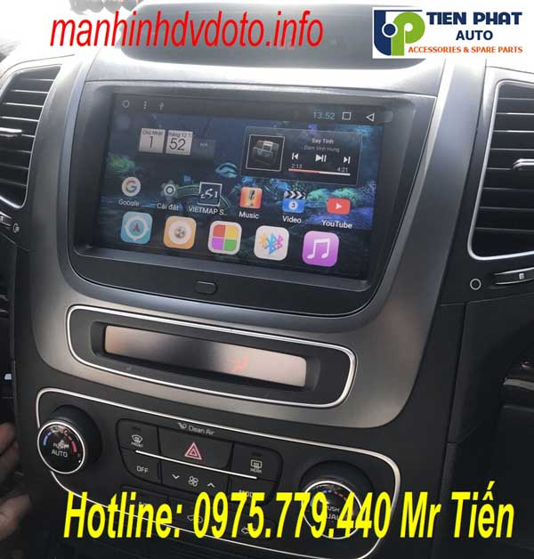 Giá Màn Hình DVD Android Cho Kia Sorento 2014-2018 Tại Tiến Phát Auto