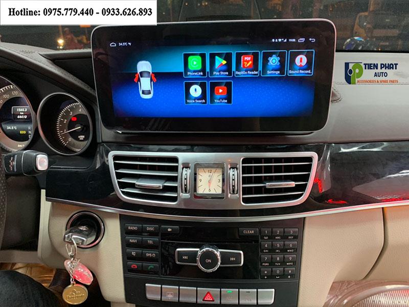 Lắp Màn Hình DVD Nhập Khẩu Theo Xe Mercedes E250 Bản AMG Uy Tín Nhất TP.HCM