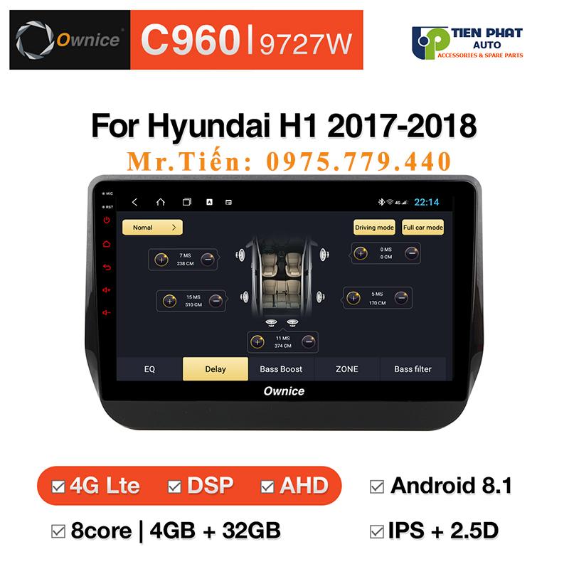 Lắp Đặt Màn Hình DVD Ownice C960 Cho Xe Hyundai Universal