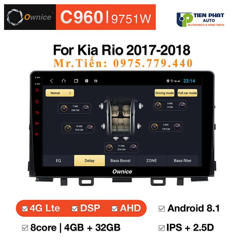 Lắp Đặt Màn Hình Dvd Ownice C960 Cho Xe Kia