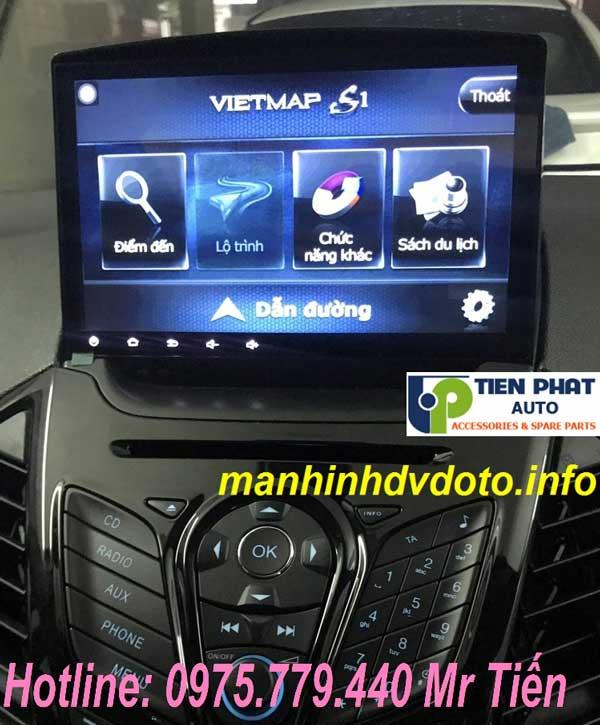 Lắp Màn Hình DVD Android Cho Ford Ecosport 2015-2017 Tặng Camera Lùi Tại Tp.HCM