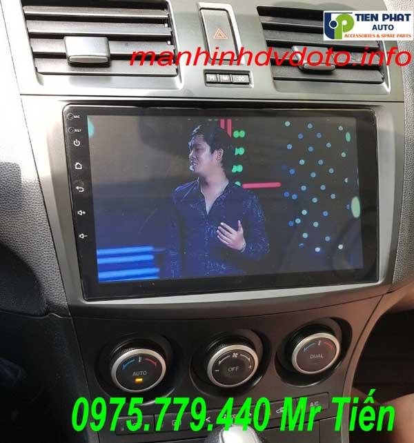 Lắp Màn Hình DVD Android Cho Mazda 3S 2010-2012 Mới Nhất Tại Tp.HCM