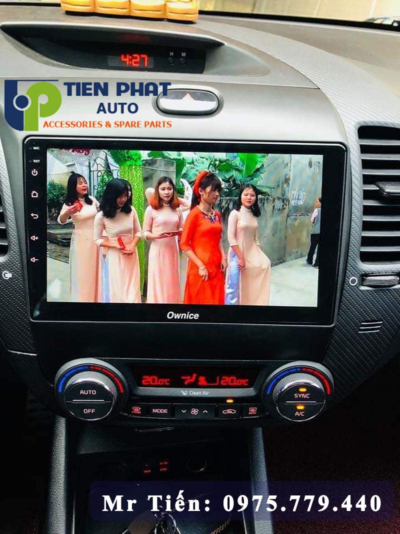 Lắp Màn Hình Dvd Ownice C500+ Chính Hãng Cho Xe Cerato 2016