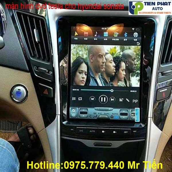 Lắp Màn Hình DVD Tesla Cho Hyundai Sonata 2010-2012 Giá Rẻ Nhất Tại Tp.HCM