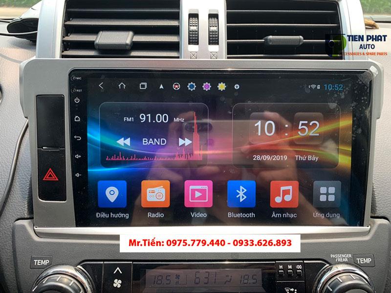 Màn Hình DVD Theo Xe Toyota Prado 2015 | Tiến Phát Auto