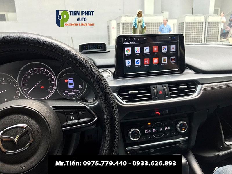 Màn Hình DVD Thiết Kế Theo Xe Mazda 6