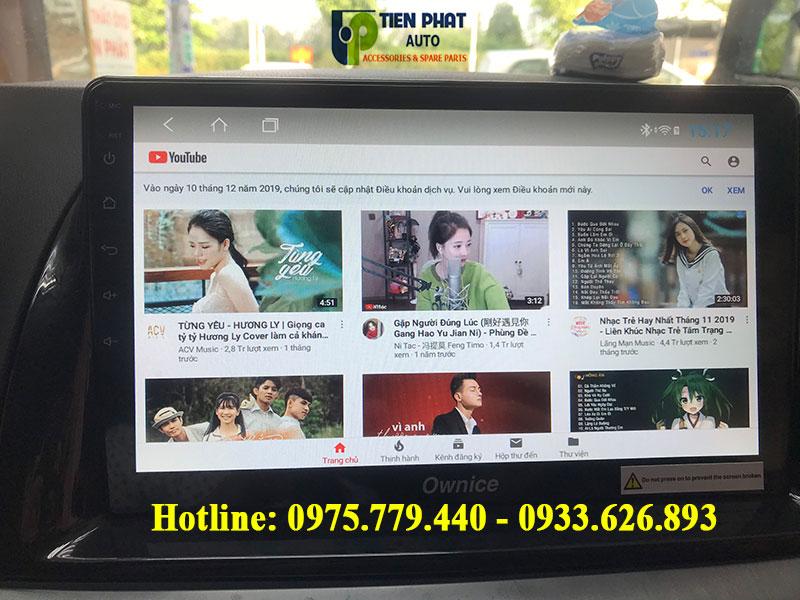 MÀN HÌNH DVD ANDROID 8.1 CHO XE MAZDA CX5 TẠI TP.HCM| CẮM GIẮC HOÀN TOÀN