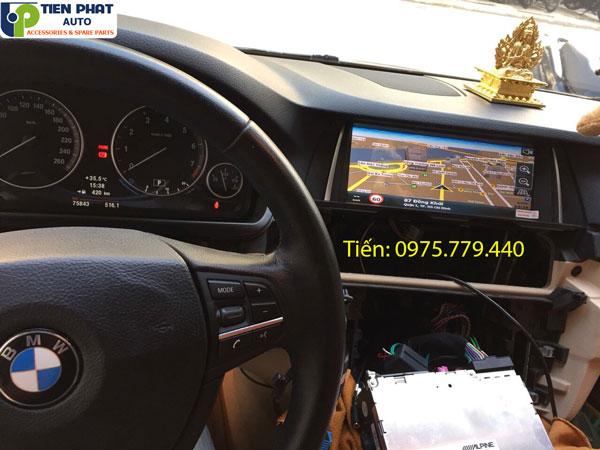 MÀN HÌNH DVD ANDROID CẮM SIM 4G CHO XE Ô TÔ BMW SERIES 5