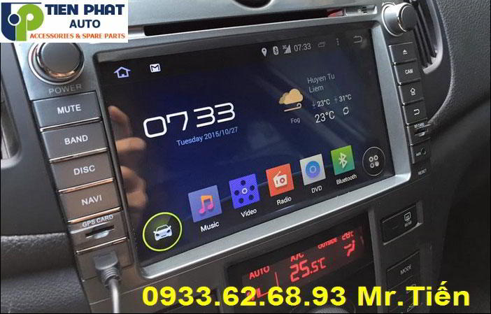 Màn Hình DVD Chạy Android Cho Kia Forte Tại Quận Tân Bình