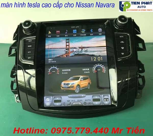 Màn Hình DVD Tesla Cho Nissan Navara Giắc Cắm Zin Theo Xe Tại Tp.HCM