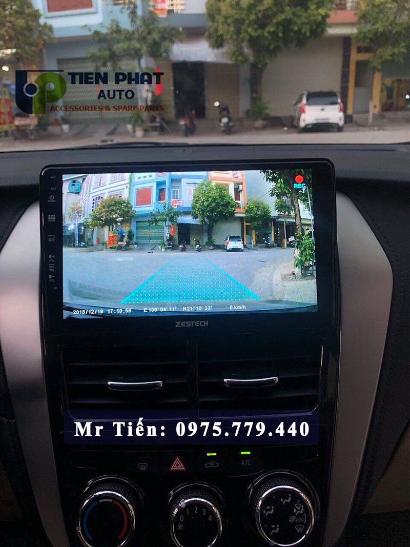 Màn hình DVD Zestech cho xe Toyota Vios